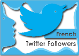 Buy twitter followers french